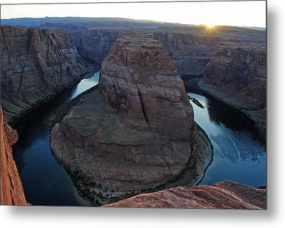 Horseshoe Bend Metal Print by Robert  Moss