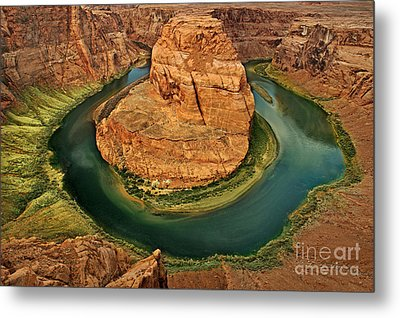 Horseshoe Bend Metal Print by Roman Kurywczak