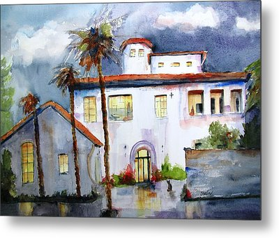 Hospitality House Metal Print by Carlin Blahnik