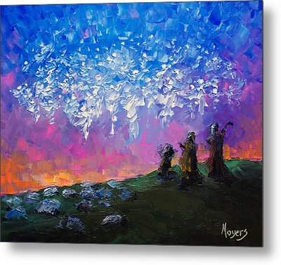 Host Of Angels Metal Print by Mike Moyers