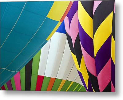 Hot Air Balloon Metal Print by Marcia Colelli