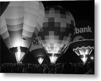 Hot Air Balloons Metal Print by Robert  Aycock