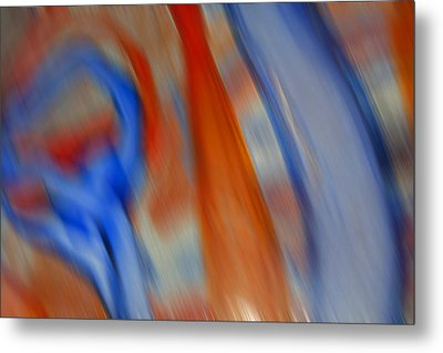 Hot And Cold Mixing Metal Print by Greg Kluempers