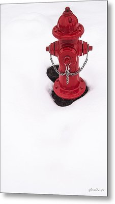 Hot And Cold Metal Print by Steven Milner