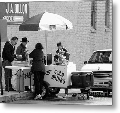 Hot Dog Man Metal Print by   Joe Beasley