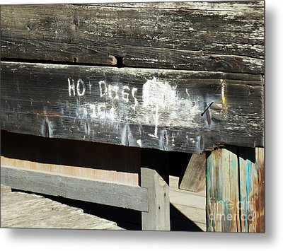 Hot Dogs 15 Cents Metal Print by Methune Hively