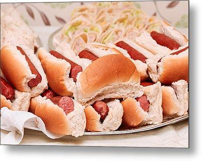 Hot Dogs Metal Print