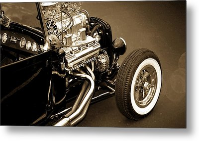 Classic Car Metal Print featuring the photograph Hot Rod Power  by Aaron Berg
