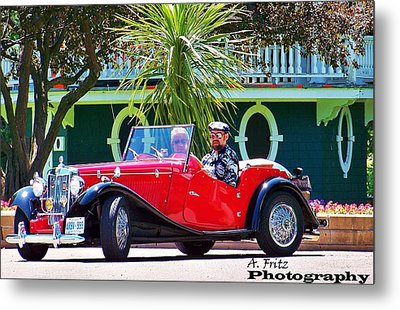 Metal Print featuring the photograph Hot Summer Day... by Al Fritz