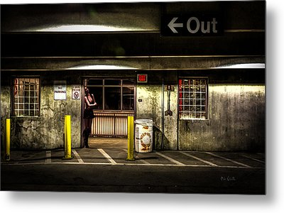 Hot Summer Night Out Metal Print by Bob Orsillo