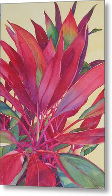 Hot Ti Metal Print by Judy Mercer