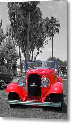 Metal Print featuring the photograph Hot V8 by Shoal Hollingsworth