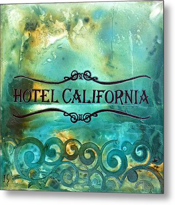 Hotel California Metal Print by Ivan Guaderrama