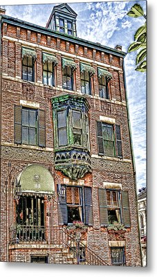 Hotel Metal Print by Larry Bishop