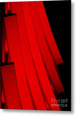 Hotel Ledges Of A New Orleans Louisiana Hotel #1 Metal Print