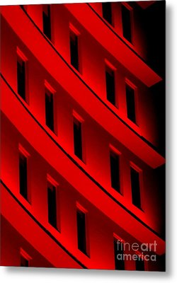 Hotel Ledges Of A New Orleans Louisiana Hotel #5 Metal Print by Michael Hoard