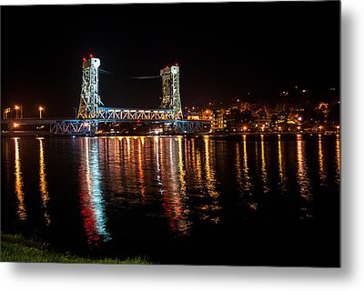 Houghton Lift Bridge  Metal Print