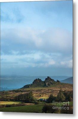 Hound Tor On Dartmoor  Metal Print by Jan Bickerton