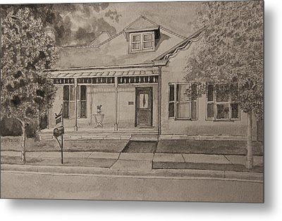 House In Franklin Tennessee Metal Print