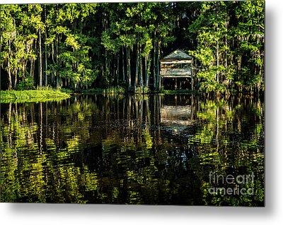 House In The Swamp Metal Print