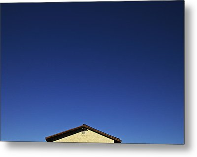 House Of Blue  Metal Print by Mark M  Mellon