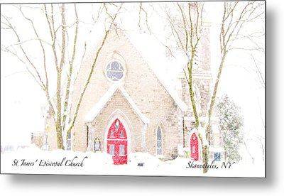 Metal Print featuring the photograph O Come All Ye Faithful by Margie Amberge