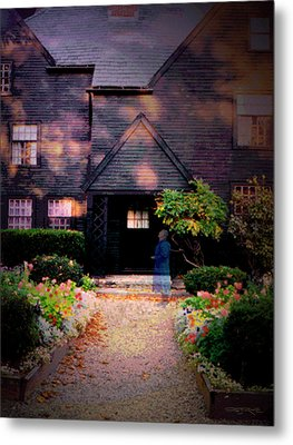 House Of Seven Gables Metal Print