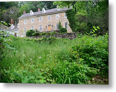 House On A Hill Metal Print by    Michael Glenn
