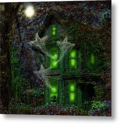 House On Haunted Hill Metal Print by Doug Kreuger