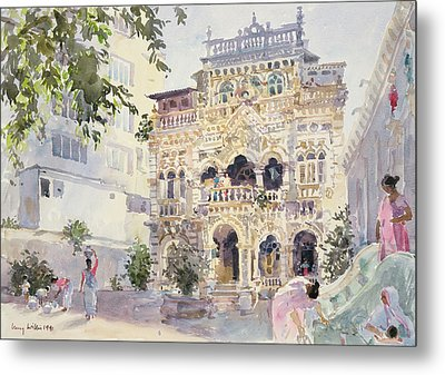 House On The Hill, Bombay Metal Print