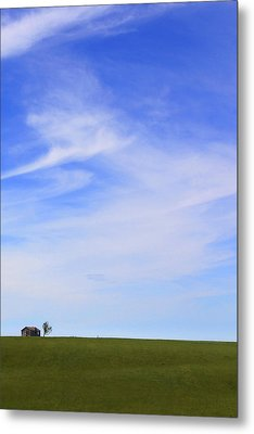 House On The Hill Metal Print by Mike McGlothlen