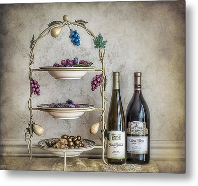 House Wine Metal Print