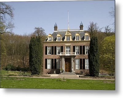 House Zypendaal In Arnhem Netherlands Metal Print by Ronald Jansen