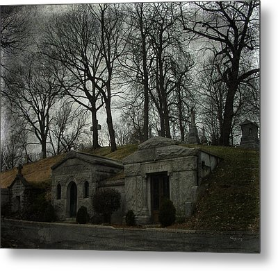 Houses Of The Holy Metal Print by Cynthia Lassiter