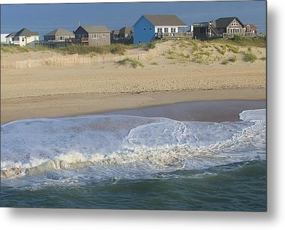 Houses Off Avon Pier Metal Print by Cathy Lindsey