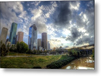 Houston Metal Print