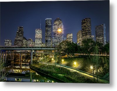Houston On The Bayou Metal Print