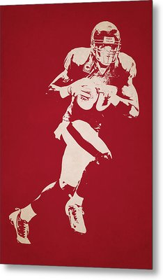 Houston Texans Shadow Player Metal Print