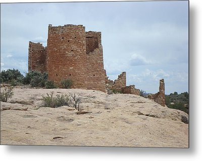 Hovenweap Castle Ruins Metal Print by Susan Woodward