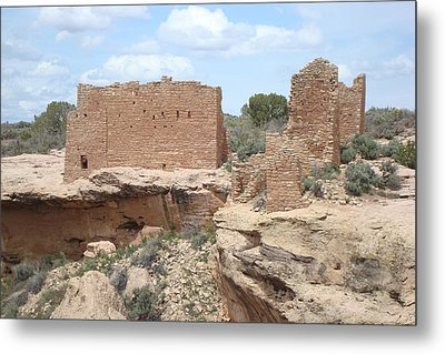 Hovenweap Castle Metal Print