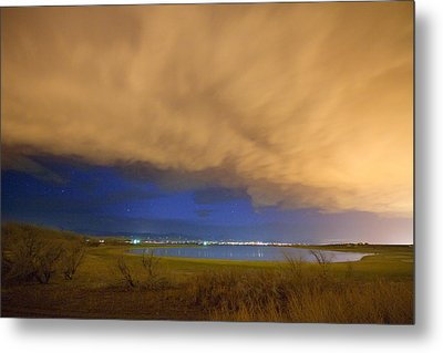 Hovering Stormy Weather Metal Print by James BO  Insogna