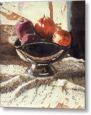 How Bout Those Apples II Metal Print