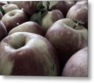 How Do You Like Them Apples Metal Print by Photographic Arts And Design Studio