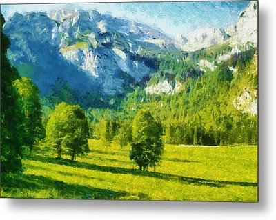 How Green Was My Valley Metal Print by Ayse and Deniz