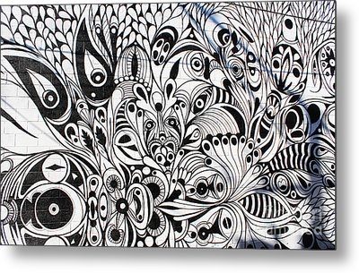How Many Eyes Metal Print
