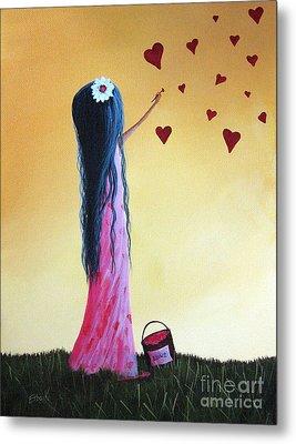 How She Says I Love You By Shawna Erback Metal Print by Shawna Erback