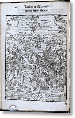 How To Flee The Hearon Metal Print by British Library