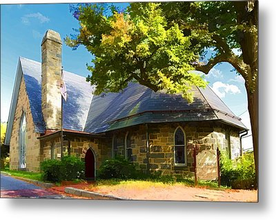 Metal Print featuring the photograph Howard County Historical Society Museum by Dana Sohr