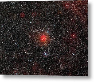 Hr 5171 Star Metal Print by Eso/digitized Sky Survey 2