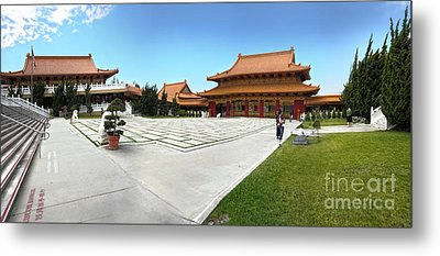 Hsi Lai Temple - 08 Metal Print by Gregory Dyer